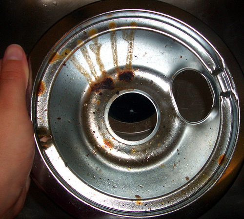 How To Clean Nasty Drip Pans On Your Electric Stove