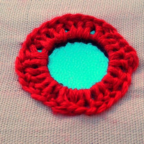 Tutorial: Indian Shisha (mirror-work) embroidery, diy, handmade, needlework, how-to