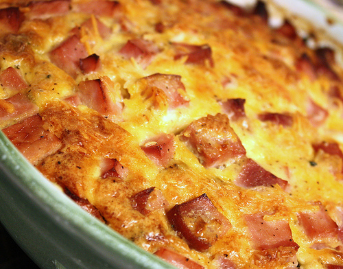 Ham and Cheese Crustless Quiche Recipe (with Spinach, too!) - Joyful ...