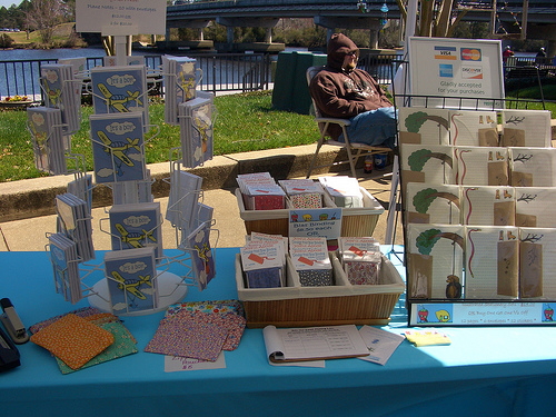 riverwalk arts festival craft show booth