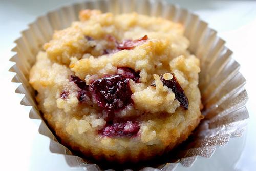 Grain-free Cherry Macadamia Muffins