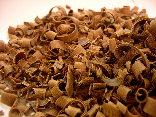 easy chocolate shavings