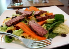 Pretty Steak Salad