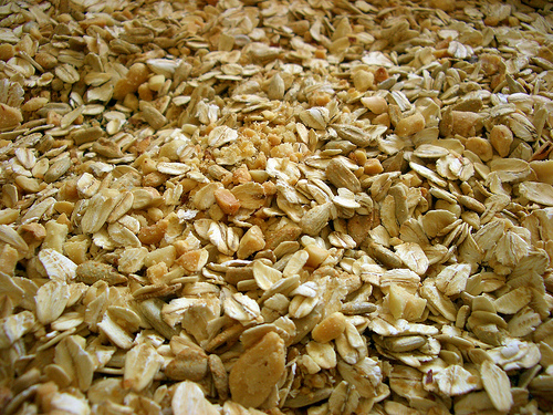 toasted grains and nuts