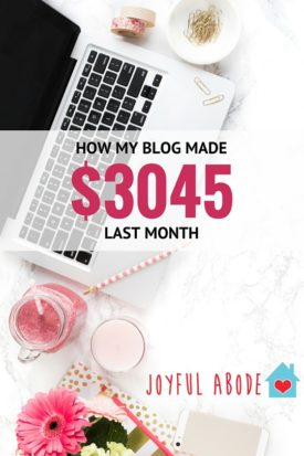 How my blog made $3045 last month - detailed income and expense report, traffic report, and more. Want to make money blogging? It's possible! Here's how.