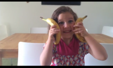 Chiquita Banana is having a Sing-Off: My 4-year-old's Music Video