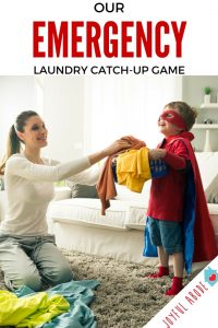 Our Emergency Laundry Catch-Up Game