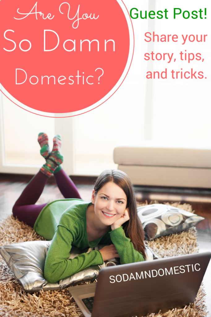 Are you Joyful Abode? Guest post to share your story, tips, and tricks.