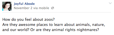 zoo educational or nightmare