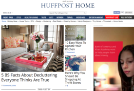 Huffington Post - 5 Myths About Decluttering