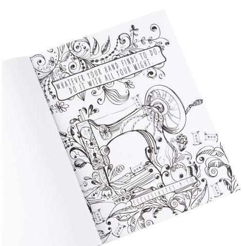 Beautiful inspirational adult coloring book - plus 99 more!
