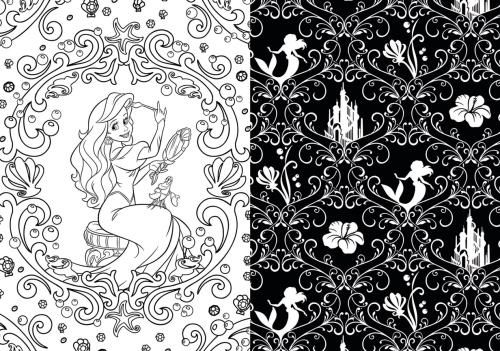 Adult coloring books - awesome disney one! I love this!!