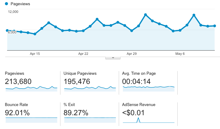 How did I make almost a thousand dollars from my blog? I'll show you my income and traffic report!