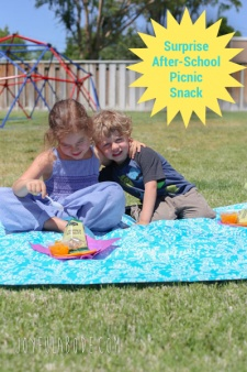 A Recipe for After-School Picnic Fun