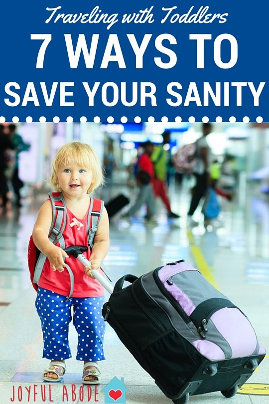 Traveling with toddlers - 7 ways to save your sanity