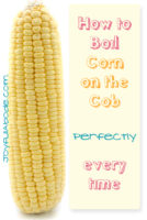corn on the cob - how to boil
