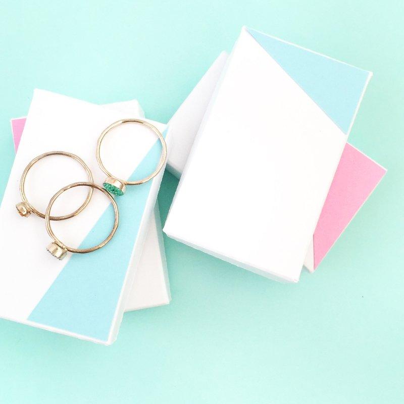 tiny diy valentine boxes