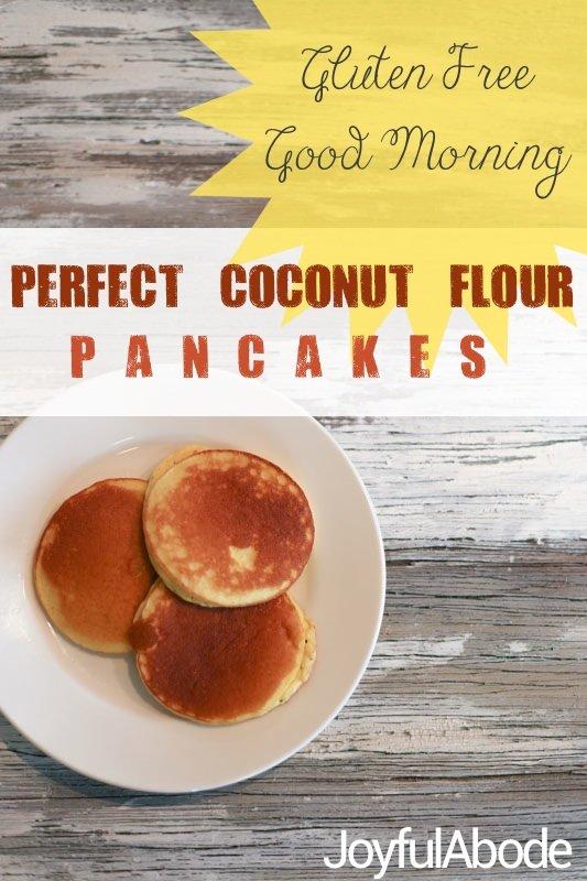 gluten free good morning perfect paleo coconut flour pancakes