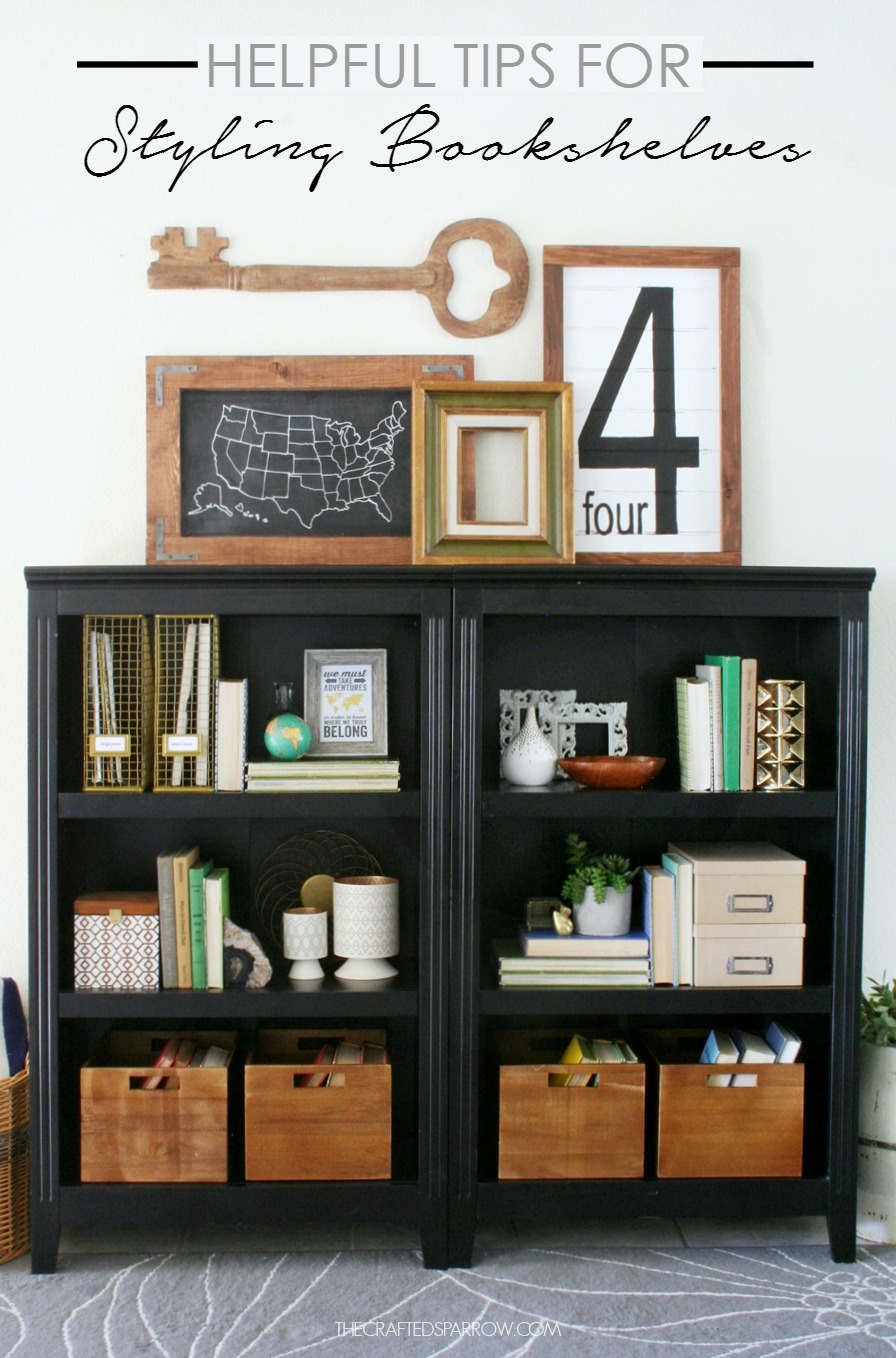 helpful tips for styling bookshelves - Styling Bookcases