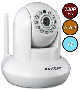 ip camera baby monitor for iphone and android - white