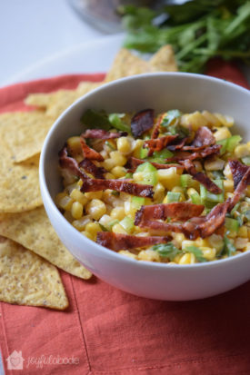 jalapeno corn bacon salsa party dip recipe-2