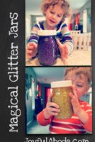 magical glitter jars diy