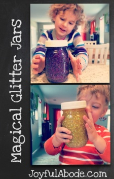 Magical Glitter Jars