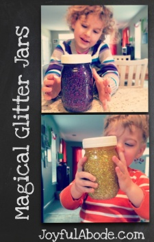Magical Glitter Jars