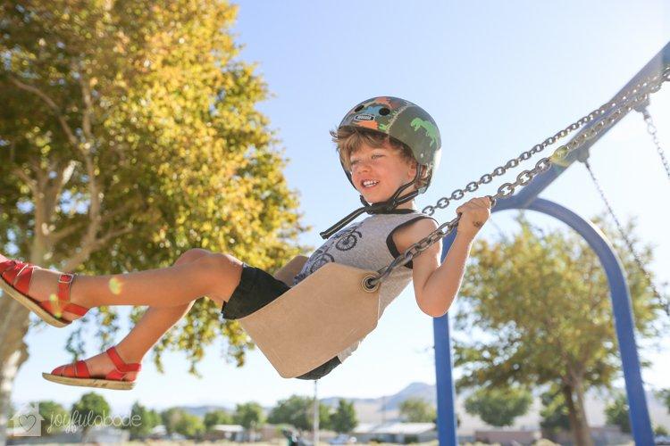 my kids on the playground-4