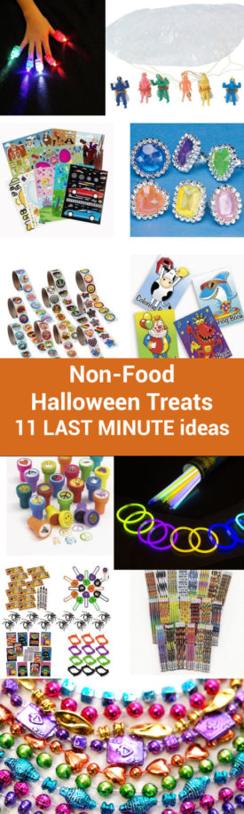 Non-Food Halloween Treats: 11 Last-Minute Ideas