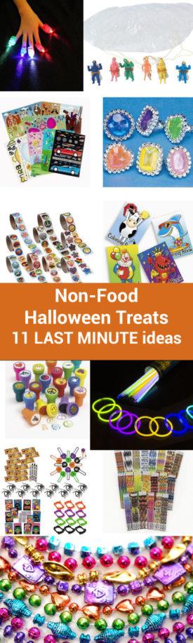 Non-Food Halloween Treats: 11 Last-Minute Ideas