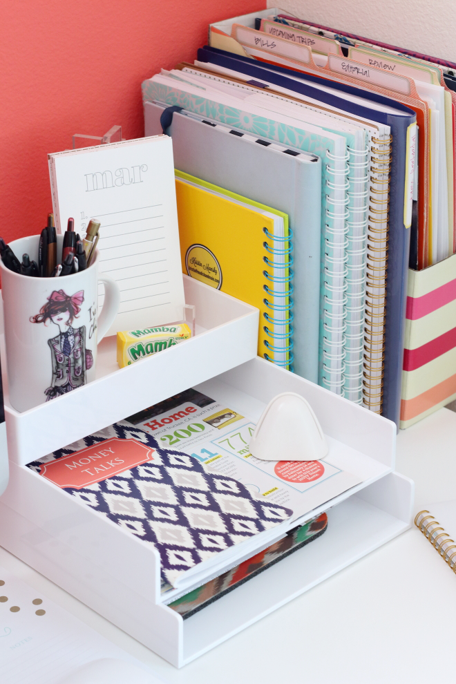 25 ways to organize your home office organizing decor