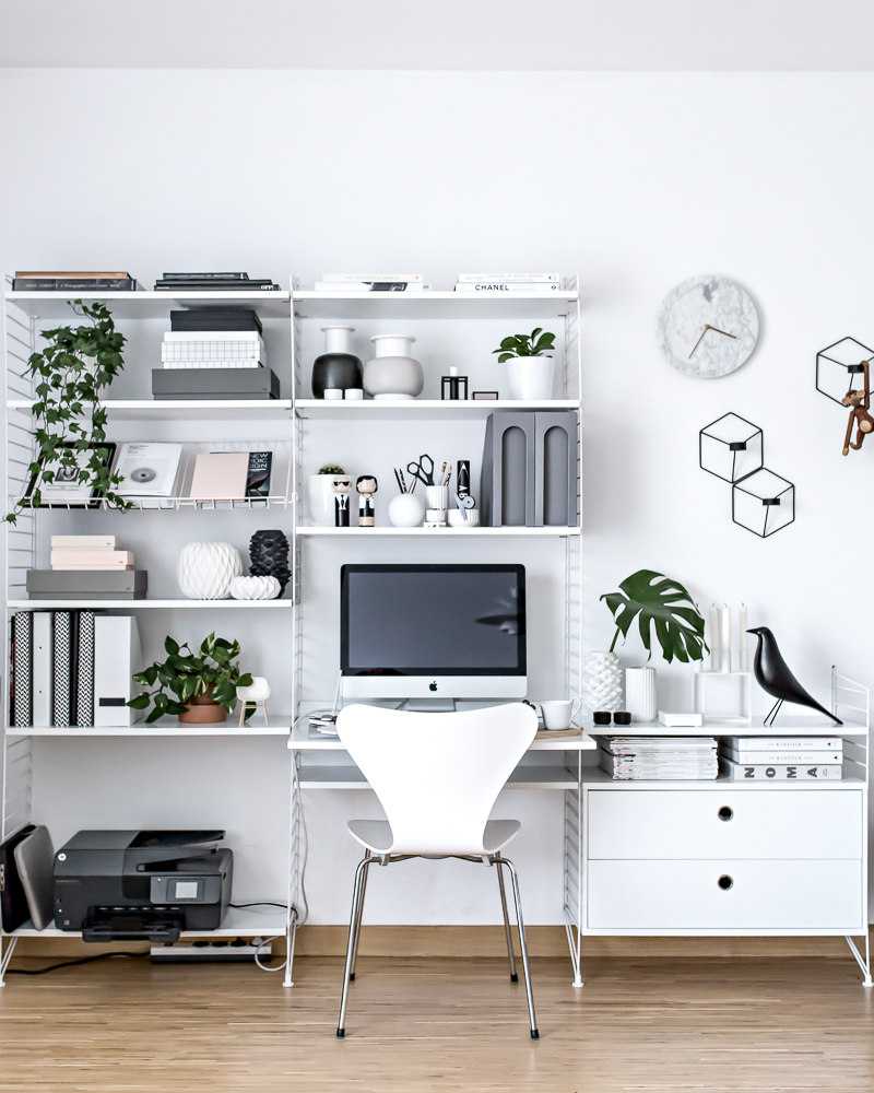 25 Ways to Organize Your Home Office - Organizing + Decor Ideas