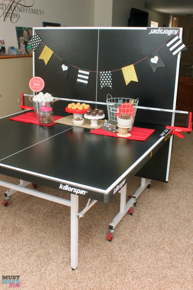 ping pong valentine's day fun game