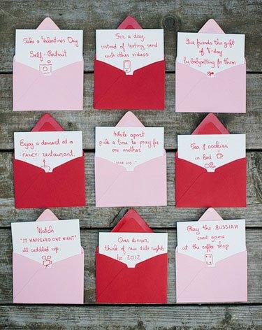valentines' day advent calendar ideas