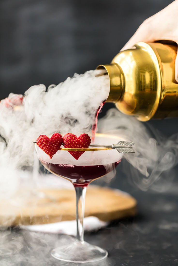 love potion number 9 cocktail for valentine's day drink