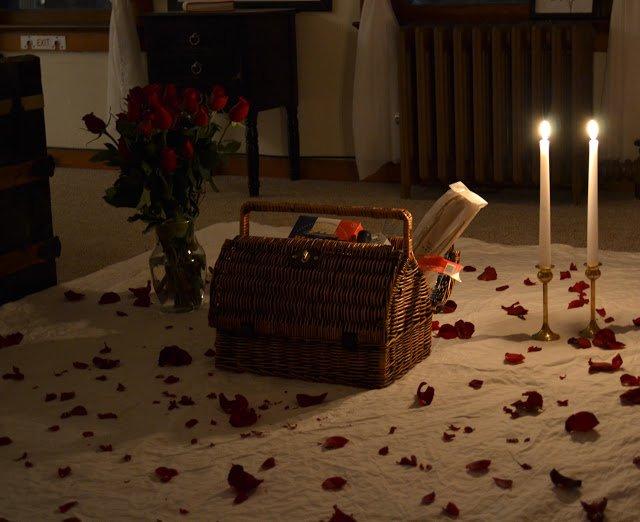 romantic valentine's day picnic