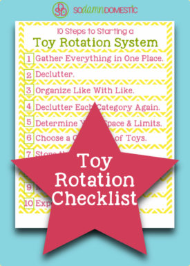 toy rotation checklist printable