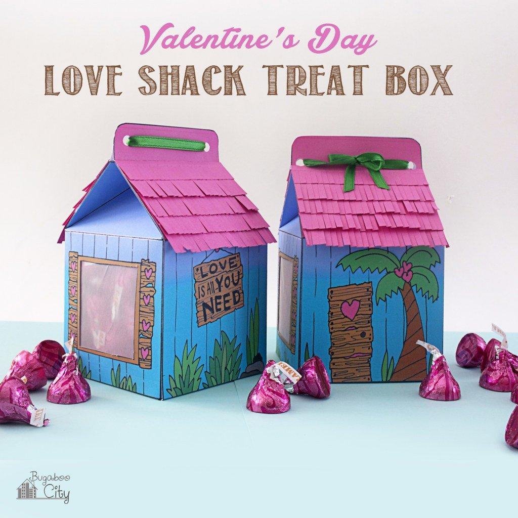 love shack valentine treat boxes