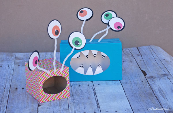 valentine monster boxes