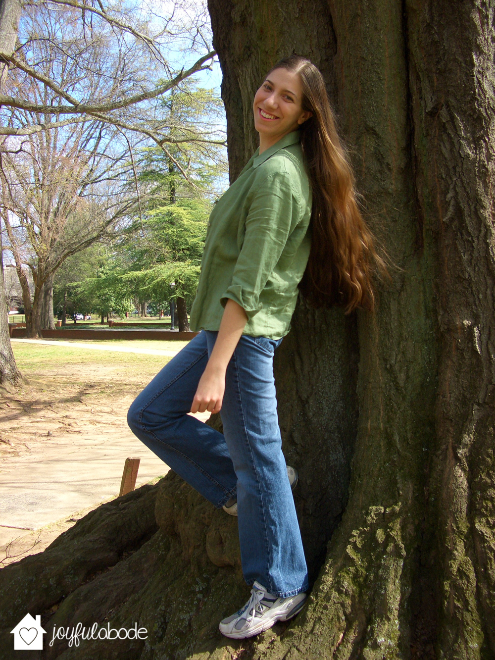 when my hair was super long AND super healthy - it CAN be done.