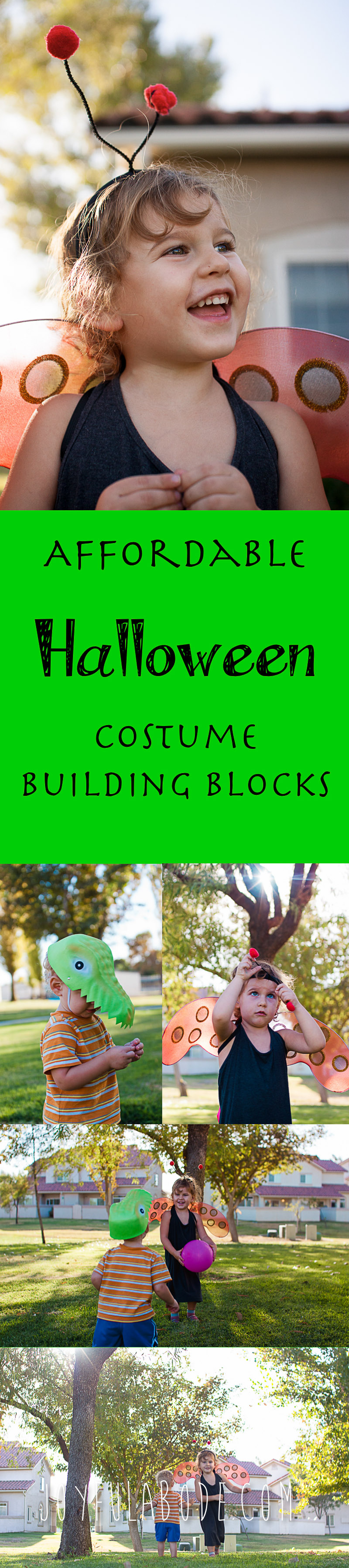 frugal halloween costume starters
