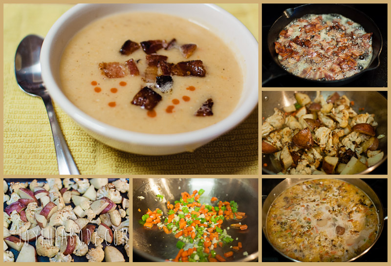 gluten free cauliflower chowder