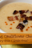 cauliflower blended soup recipe