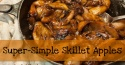 Quick and Easy Desserts – Skillet Fried Apples Recipe (NO Sugar)
