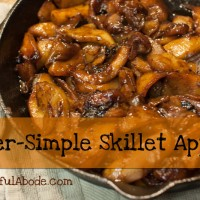 Super Simple Skillet Apples Recipe