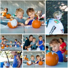 Pumpkin Painting and Horseback Riding Playdate