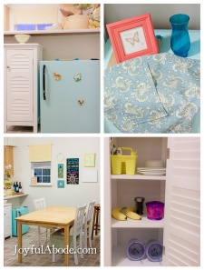Montessori Toddler Kitchen (and Mini Fridge Makeover)