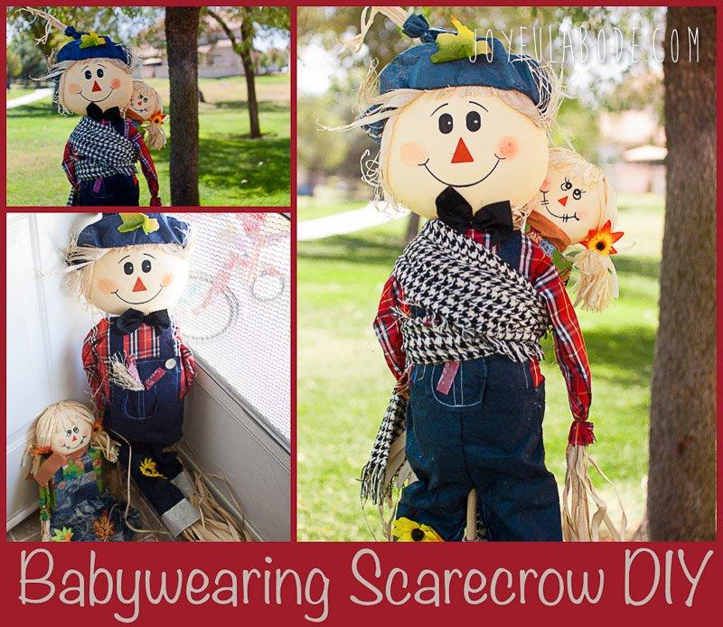 Babywearing Scarecrow DIY