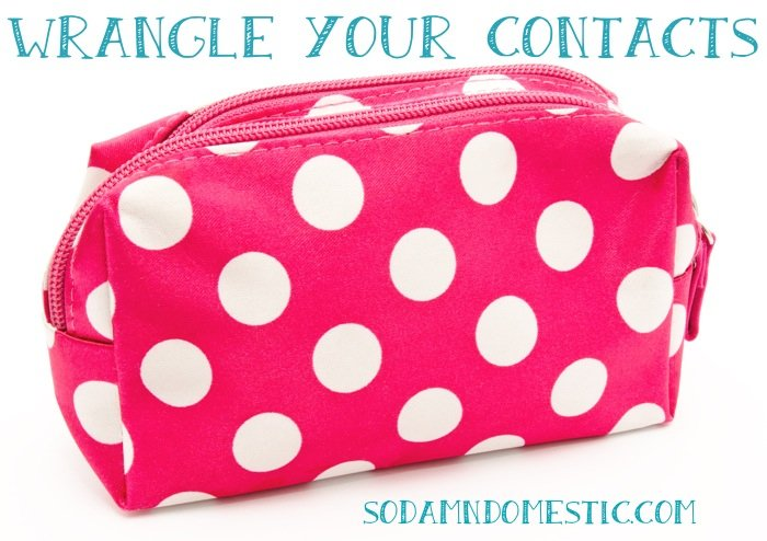 wrangle your contacts